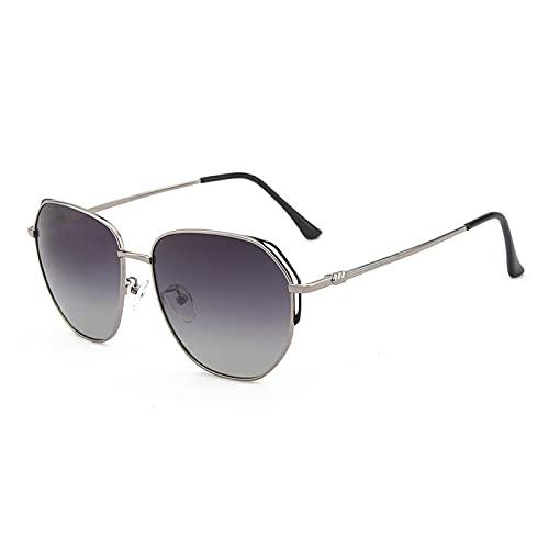 SONGYUAN Gafas De Sol Polarizadas para Hombre Sombra Integral para Conducción Gafas De Sol para Hombre Y Mujer Montura Negra Doble 🔥