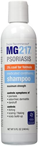 MG217 Psoriasis Medicated Conditioning 3% Coal Tar Shampoo - 8 oz Bottle