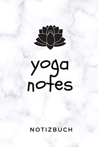 YOGA NOTES NOTIZBUCH: A5 Notizbuch KARIERT Yoga Planer | Meditation Tagebuch | Achtsamkeitsbuch | Yoga Notizen für Anfänger und Fortgeschrittene | Geschenkidee für Yoga Lehrer