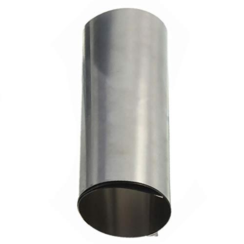 ZZB-Metals, 1 Hoja de 0,1 mm * 10cm * 100cm Ta1 de Titanio T