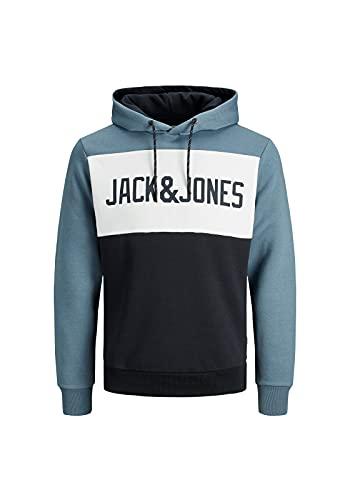 JACK & JONES JJELOGO Blocking Sweat...