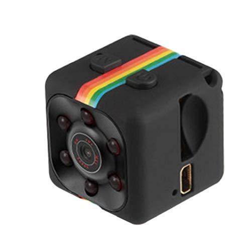 shentaotao Cámara HD 1080P la Noche del Sensor de Movimiento Visión SQ11 Mini videocámara DVR Micro Camara Sport DV Vídeo Grabador de Negro