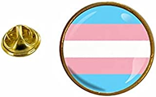 Akachafactory Speldje Transgender vlag Transgender LGBT rond