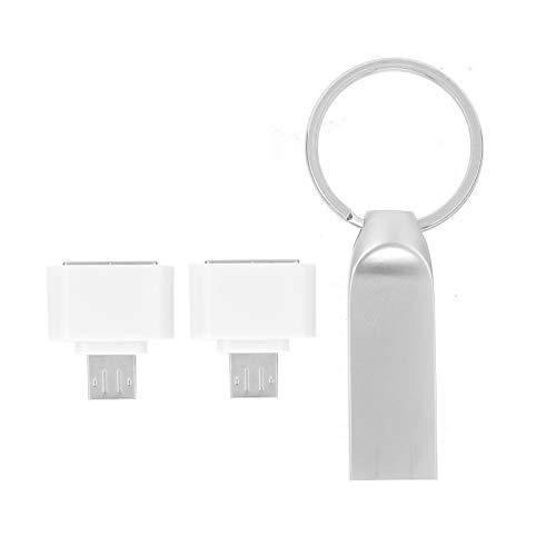 Clé USB, Disque USB2.0 U Portable et Pratique avec Adaptateur Micro Type-C pour Logiciel Window2003 / XP/Vista / 7/8/10 / OS X/Linux(64GB)