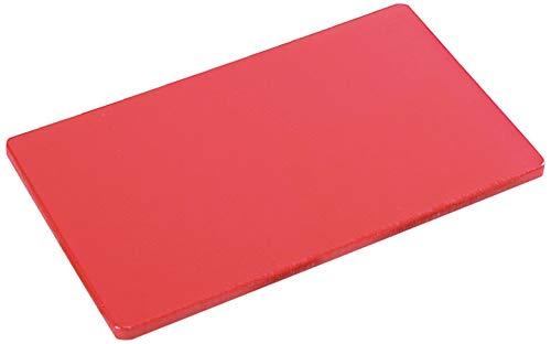 KESPER 30143 Planche à découper pour la Viande 32,5x26,5x1,5cm en Rouge, Plastique, 15 cm