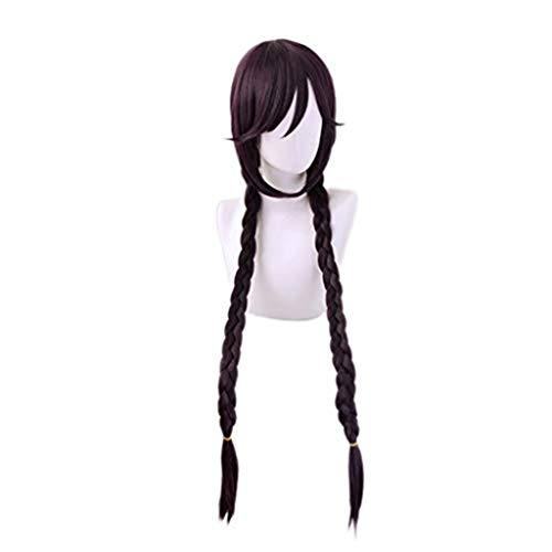 Ani·Lnc Danganronpa Touko Fukawa Toko Perücke Cosplay Kostüm Dangan Ronpa Hitzebeständige synthetische Haarperücken