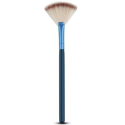 Kosmetische Werkzeuge Zubehör Fächerform Make-up Pinsel Textmarker Gesicht Puder Pinsel 1 Stück...