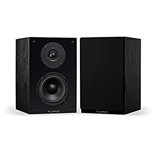 Fluance Elite High Definition 2-Way Bookshelf Surround Sound Speakers for 2-Channel Stereo Listening or Home Theater System - Black Ash/Pair (SX6-BK) (B00IEDL8EM) | Amazon price tracker / tracking, Amazon price history charts, Amazon price watches, Amazon price drop alerts