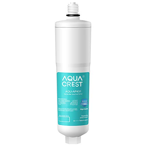 AQUACREST AP431 Cartridge, Replacement for Aqua-Pure Whole House Scale Inhibition Inline Water System AP430SS, Helps Prevent Scale Build Up On Hot Water Heaters and Boilers (Pack of 1)