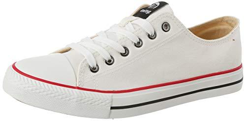 MTNG Attitude Herren 15380 Sneakers, Weiß (Canvas Blanco I222), 42 EU