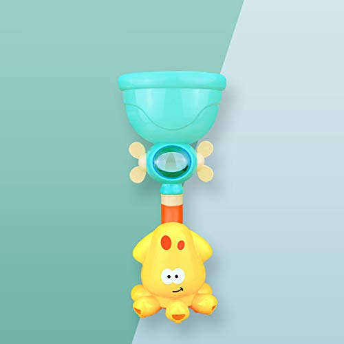 XKMY Juguete de baño Nuevos juguetes de baño Juego de agua para bebés Elefante Modelo Grifo Ducha Eléctrico Agua Spray Juguete Natación Baño Juguetes para Niños Regalos (Color: 1 pieza sin caja)