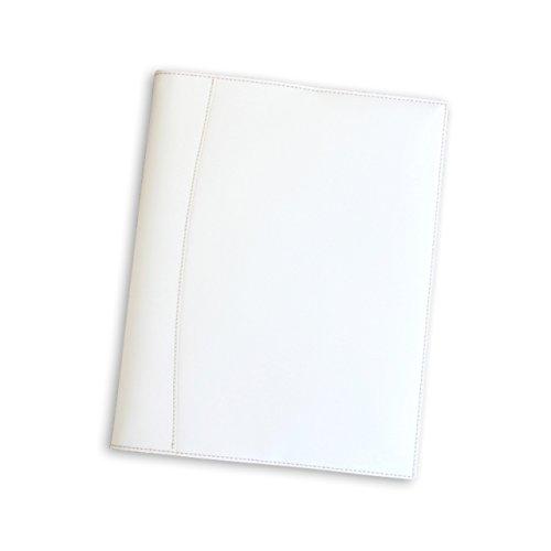 (ブラン・クチュール)BlancCouture 本革ルーズリーフバインダー 「A4サイズ 30穴」20mmリング(フレンチホワイト)