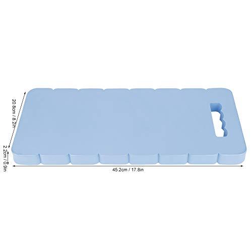 Rough Kneeling Pad, Yoga Pad 45.2cm Rodillera Jardinería Rodilleras con Eva para trabajo de jardinería (azul)