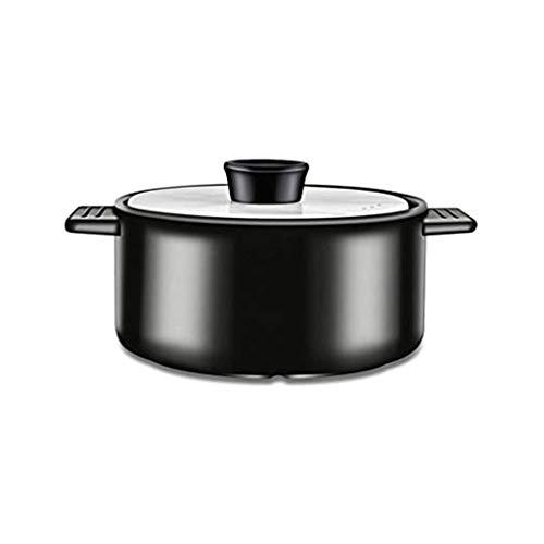 SMEJS Vaisselle en céramique Soupe Marmite Pot à Haute température Ragoût Mini Céramique Casserole Egg Lait Poêle Cuisine Vapeur Pots