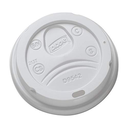 dixie 12 oz coffee lids - 1