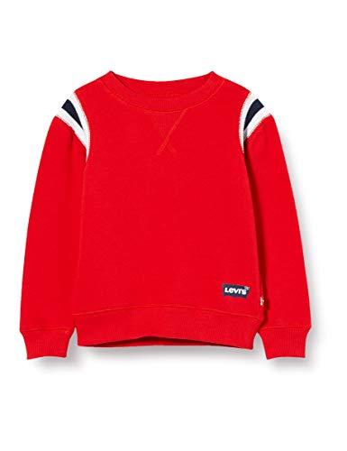 Levi's Kids Lvb Oversized Dorito Crewneck Sweater Garçon Rouge 14 ans