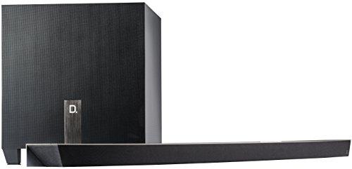 Definitive Technology W STUDIO MICRO 3.1 Wireless Soundbar Ultra-Slim (DTS Play-Fi Multiroom Technologie) Schwarz