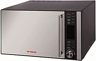 Fresh FMW-28ECGB Microwave Oven 28 L With Grill, Black