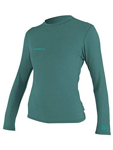 O'Neill Women's Hybrid UPF 50+ Long Sleeve Sun Shirt, Eucalyptus, L