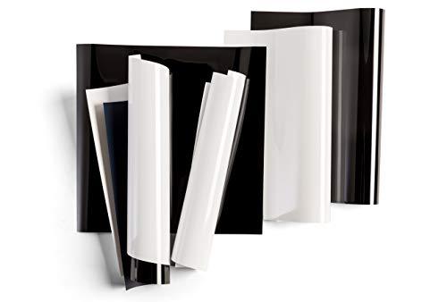 "Cricut Everyday Iron On - 12"" x 12"" 6 Sheets - Includes Black & White - HTV Vinyl for T-Shirts - Use with Cricut Explore Air 2/Maker - Basics Bundle"
