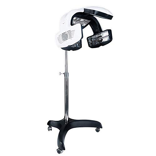 AceFox Infrared Hair Dryer, Stand Up Processor, Timer Temp Perm Colour Heater, Professional Hair Color Salon Equipment …