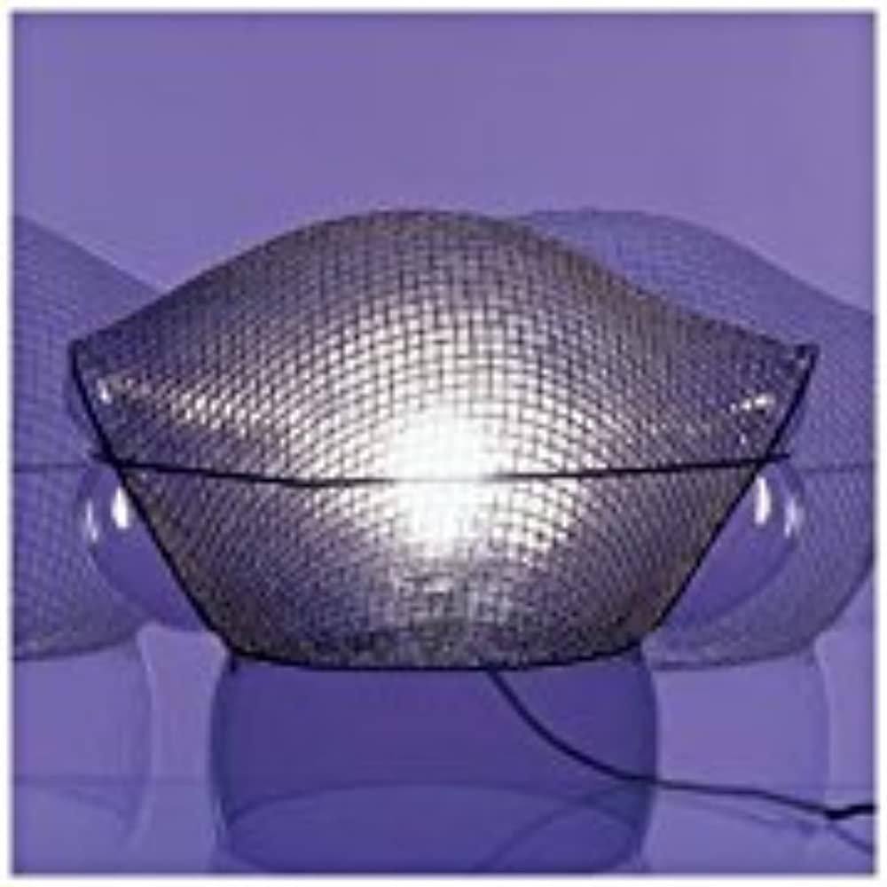 Artemide,  lampada da tavolo patroclo ,in acciaio e vetro 0060010A
