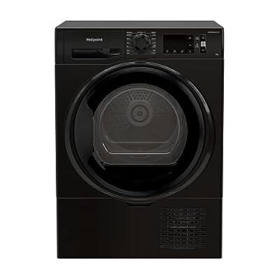 Hotpoint 8kg Freestanding Condenser Tumble Dryer - Black