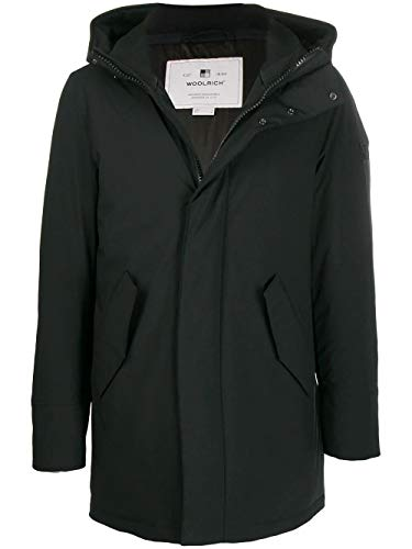 WOOLRICH Luxury Fashion Herren WOCPS2884UT0102100 Schwarz Elastan Jacke | Herbst Winter 19