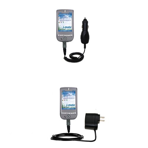 Purchase Gomadic Essential AC/DC Charge Accessory Bundle for The i-Mate PDA-N Pocket PC. Kit Include...