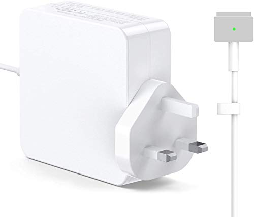 FinVi Compatible with MacBook Pro, Replacement T Tip Power Adapter 60W For Mac Book Pro 13' inch And MacBook Air Charger 11-inch & 13-inch Supports 45-60W Late 2012 Early 2015
