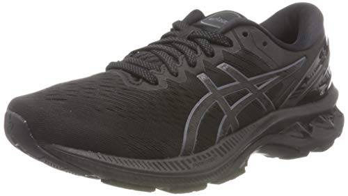 ASICS Mens Gel-Kayano 27 Running Shoe, Black/Black,43.5 EU