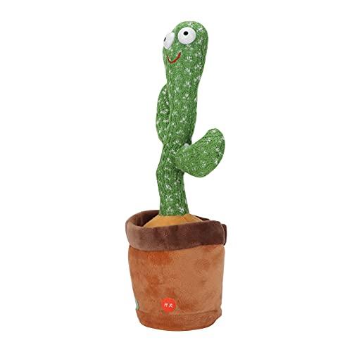 WESE Cactus Toy, Tessuto a Maglia Danza Danza Cactus Canta per Decorazioni da scrivania per Oggetti...