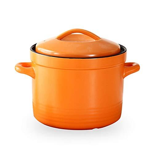 Gusstopf Cocotte Cocotte Marmite en fonte émaillée résistant aux températures élevées stylename 4.0L Orange