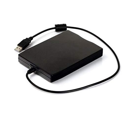 CamKpell 3,5 Zoll 1,44 MB FDD Schwarz USB-Diskettenlaufwerk für Laptop - Schwarz