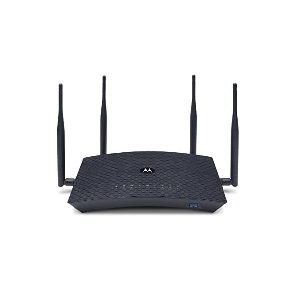 MOTOROLA AC2600 4×4 WiFi Smart Gigabit Router with Extended Range, Model MR2600