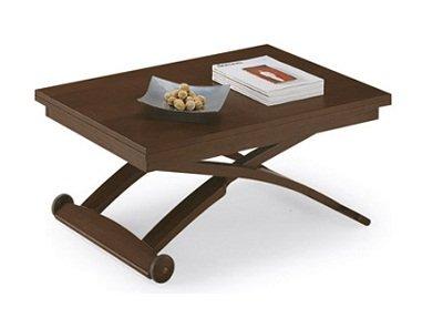 Calligaris tavolino trasformabile Mascotte, Wengè