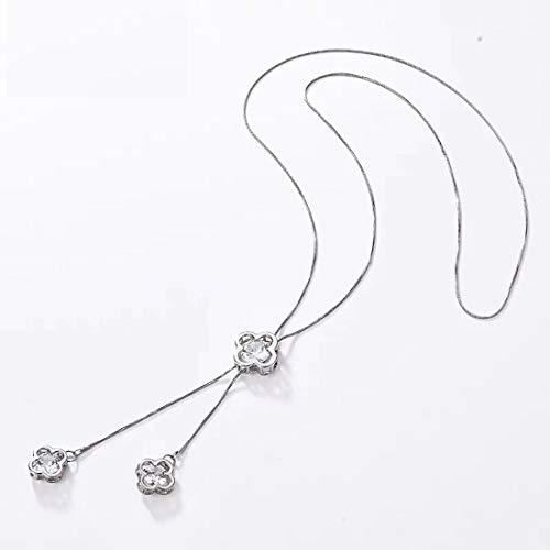 Luo Element Frauen verstellbare Pullover Kette weibliche lange Halskette Anhänger Kleidung Halskette Pullover Zubehör