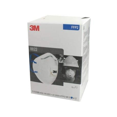 Feinstaubmaske 3M 8822, FFP2, 1 Stück - 3