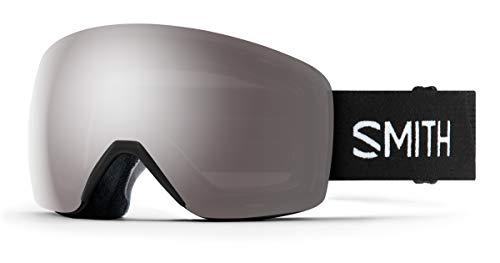 Smith Optics Skyline Snow Goggles (Black, Chromapop Sun Platinum Mirror)
