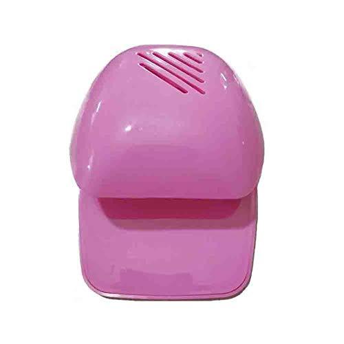 Portable Mini Séchoir Sèche Ventilateur Ventilateur Art Nail Art Séchage Pour Vernis À Ongles Doigt D'orteil Pour Doigt De La Main Idéal pour La Maison Et Usage Professionnel,pink,3pcs
