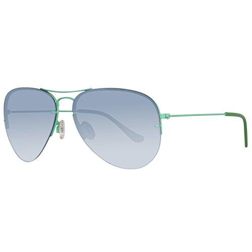 United Colors of Benetton Unisex-Erwachsene BE922S05 Sonnenbrille, Blau (Blue), 60