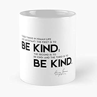 Be Kind - Henry James Classic Mug Ceramic Coffee White (11 Ounce) Tea Cup Nursing Appreciation Gifts For Nurse Practitioner-hinpeste