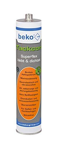 Beko BEK-2403107 Tackcon 310 ml dunkelgrau Flexibler Hightec-Kleber Shore 45