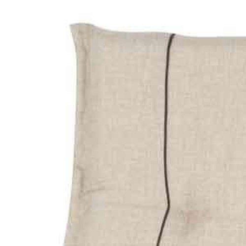 sun garden 10136140 Melange Coussin avec Housse en Polyester texturé pour Chaise Relax Natural 50148–5