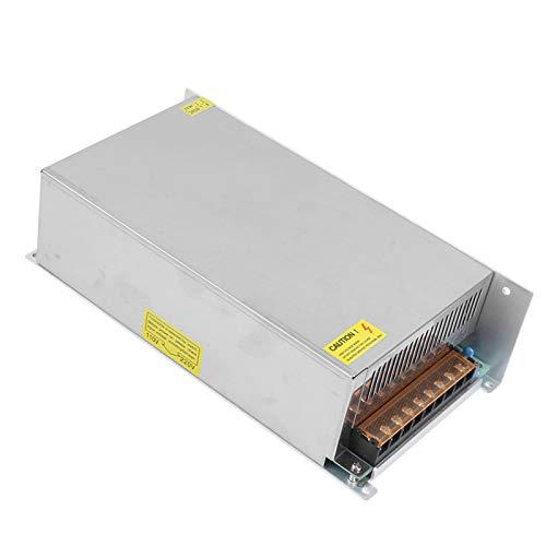 Controlador de fuente de alimentación Controlador de tira de luz LED Durable Alta eficiencia de trabajo para automatización industrial(S-800-36 (36V/22.2A/800W) AC170-250V, pink)