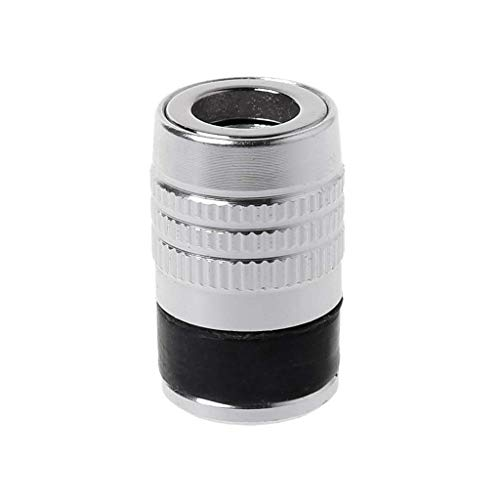 Heinside Seguro Anillo magnético 1/4' 6.35mm Fuerte del Metal Magnetizador eléctrico del Tornillo pedacitos de Destornillador Phillips Alta Resistencia