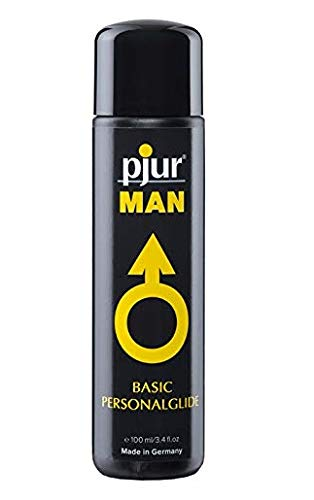 pjur Man Silicone Super Concentrated Silicon Special Personal Lubricant for Men | 3.4fl.oz/100ml