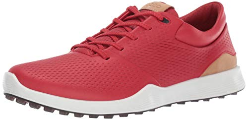 ECCO Women's S-Lite Golf Shoe, Tomato Yak Leather, 37 M EU (6-6.5 US)