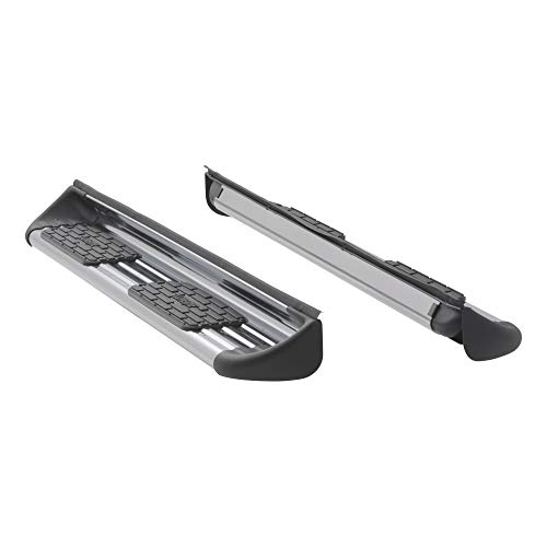 LUVERNE 481442-581442 Polished Stainless Steel Side Entry Steps Truck Running Boards, Select Chevrolet Silverado, GMC Sierra 1500, LD, 2500, 3500 HD Double Cab