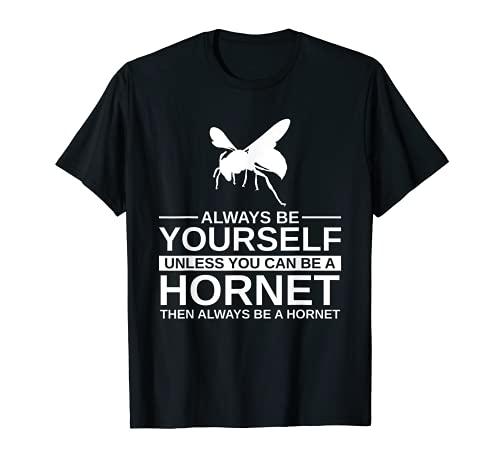 Always Be Yourself ホーネットギフト 男女兼用 昆虫 スズメ Tシャツ